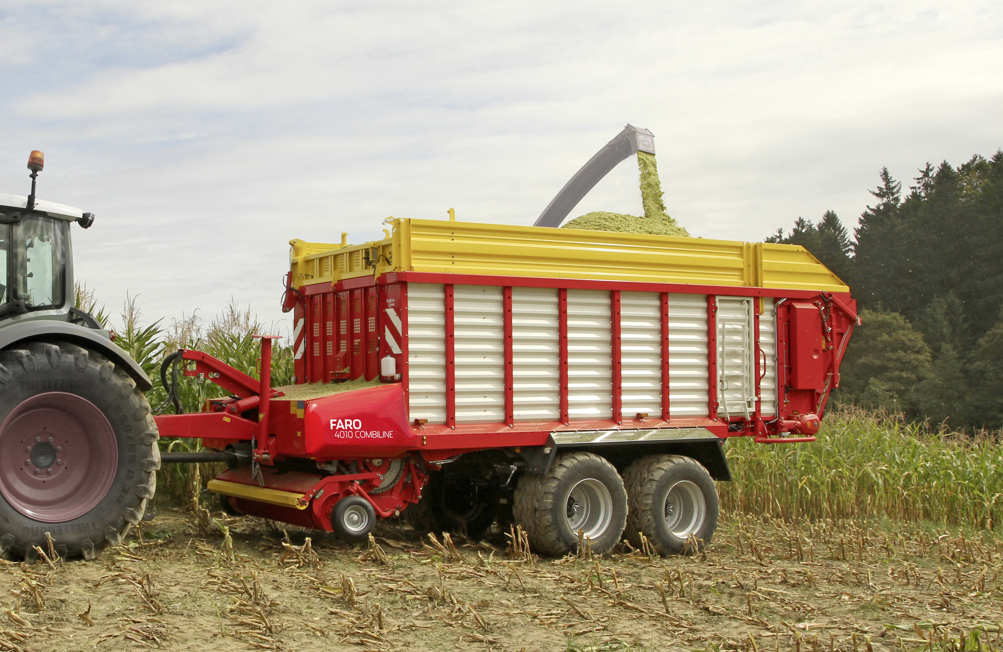Faro Combiline 2 In 1 Loader Wagon Technology Silage