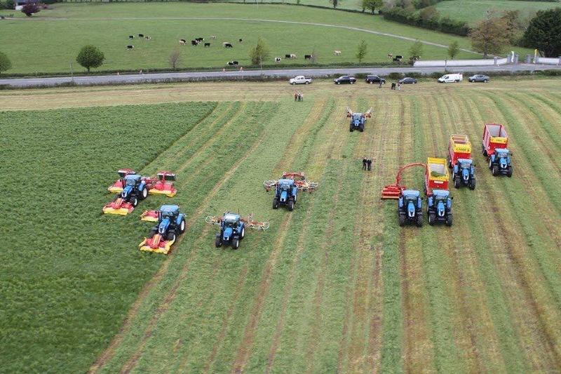 machines in field