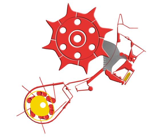 Loading rotor