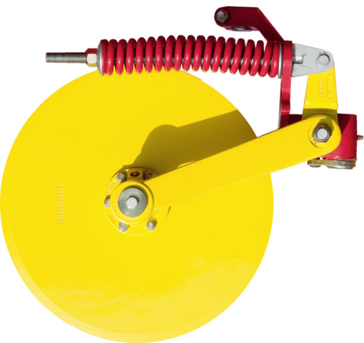 Smooth disc coulter