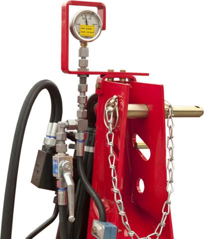 SERVO pressure gauge