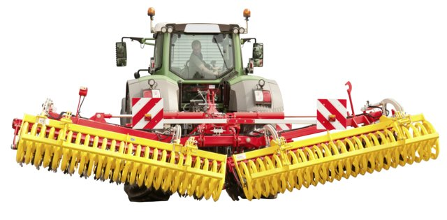 Foldable disc harrow