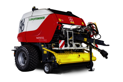 IMPRESS V Round baler with variable baling chamber