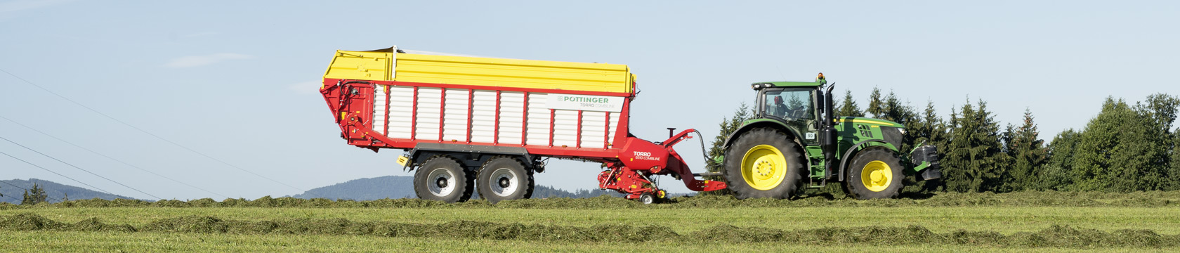 TORRO COMBILINE 2 in 1 loader wagon technology