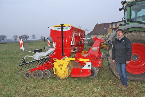 French farmer impressed with FOX compact combination