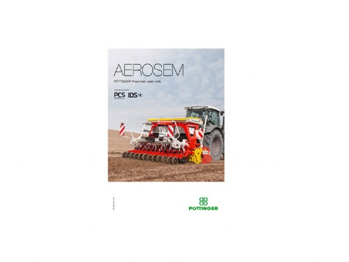 New brochure: AEROSEM, the new pneumatic seed drill for cereals and maize