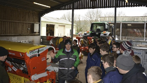 PÖTTINGER supplies leading South Wales College with the latest Tillage Equipment