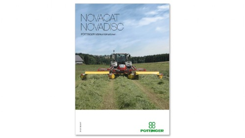 PÖTTINGER mower combinations NOVACAT / NOVADISC