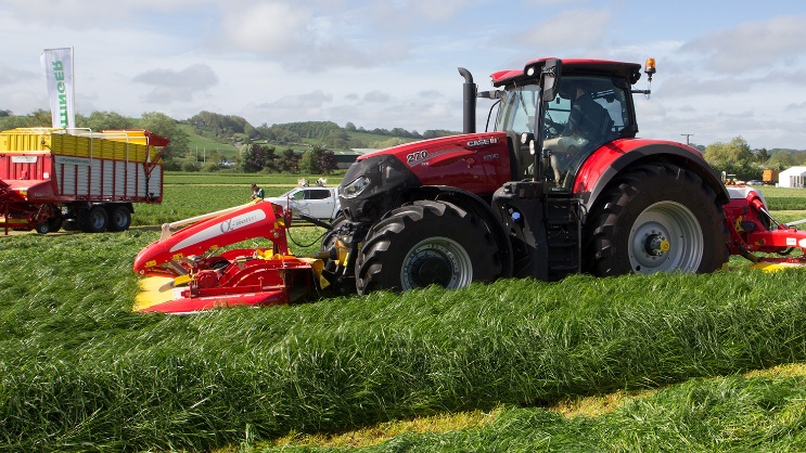 Numerous new products at Grassland UK in Somerset