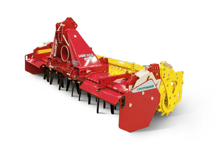 New LION 103 power harrow series