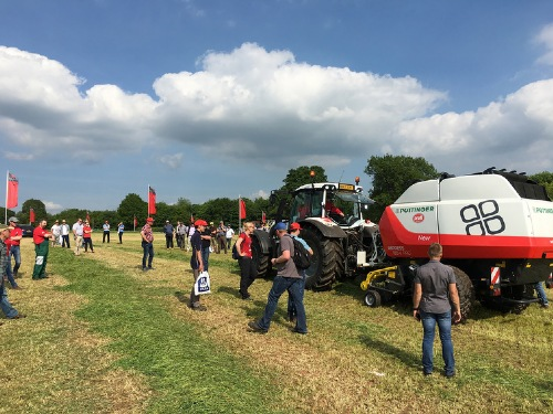 PÖTTINGER at the Grassland & Muck 2017 in Warwickshire (UK)