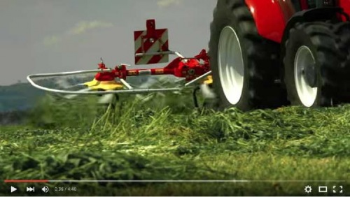New product video: HIT tedder