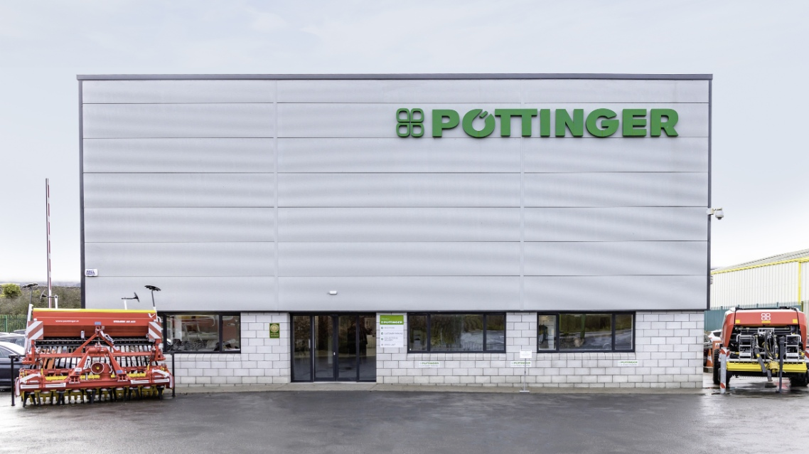PÖTTINGER Ireland with new location