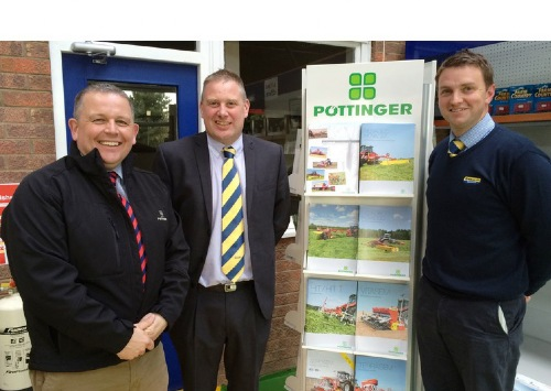 NEW DISTRIBUTION ARRANGEMENT FOR POTTINGER EQUIPMENT IN LINCOLNSHIRE