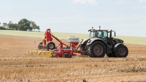 Sowing cover crops: Working cost-effectively with the TEGOSEM
