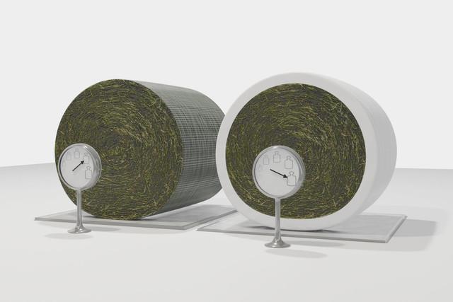 Zvýšení hmotnosti balíků pomocí vázání do fólie