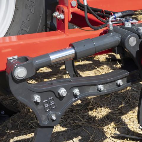 Hydraulické jištění NOVA je plynule nastavitelné pro maximální flexibilitu.