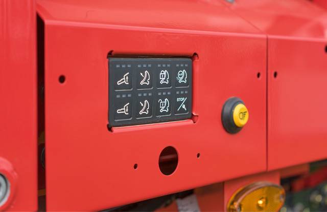 Integrated CAN-Bus control panel