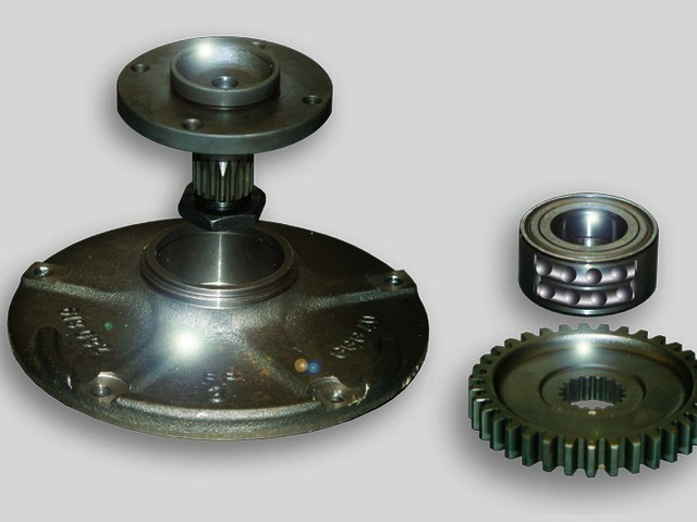 Stub shafts and bearings