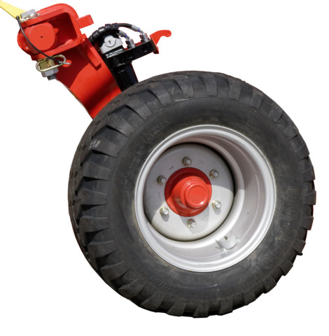 Выдвинутое вперед транспортное маятниковое колесо