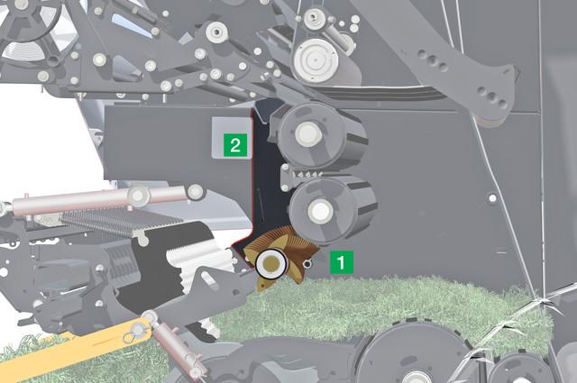 rotor czyszczący (skrobak)