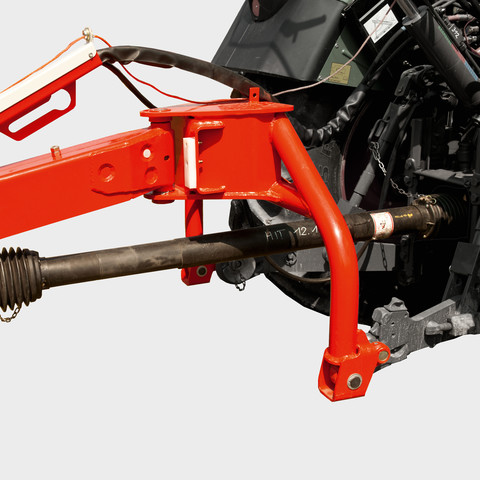 Lower linkage mounting