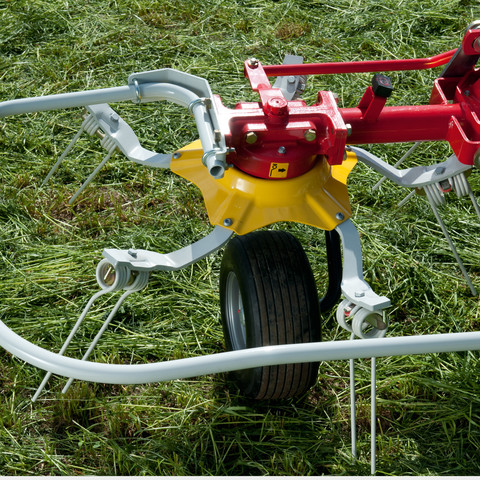 Malý průměr rotorů