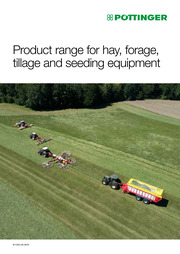 PÖTTINGER Product range for hay, forage, tillage and seeding equipment 2020
