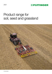 PÖTTINGER product range for soil, seed and grassland 2021