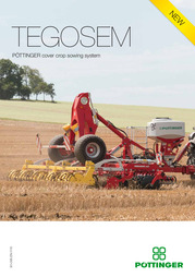 TEGOSEM cover crop sowing system