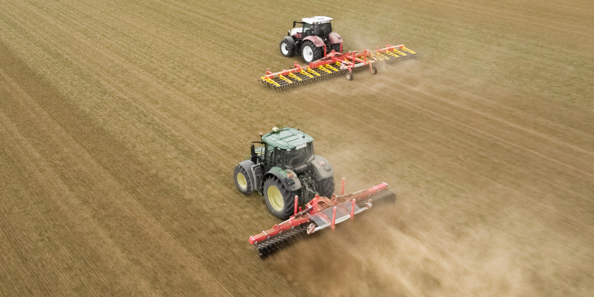 Crop care machines
