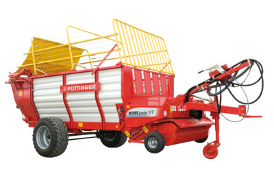 BOSS Loader wagons with feeder combs