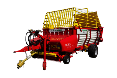 BOSS ALPIN Loader wagons with feeder combs