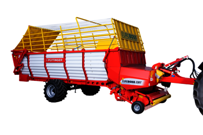 EUROBOSS Loader wagons with feeder combs