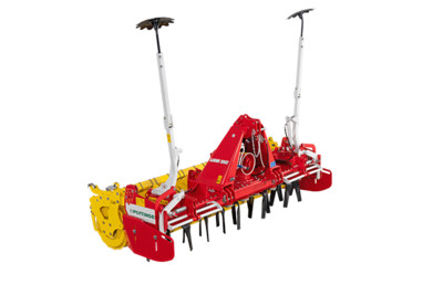 LION 1002 Rigid power harrows in heavy duty serie