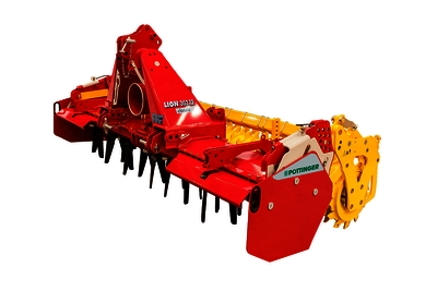 LION 103 CLASSIC Medium duty rigid power harrows CLASSIC
