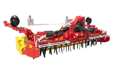 LION 103 C medium-weight folding power harrows