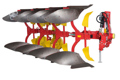 SERVO 25 light mounted reversible ploughs, up to 120 HP
