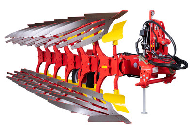 SERVO 45 M heavy mounted reversible ploughs with reinforced tilting trestle, up to 240 HP
