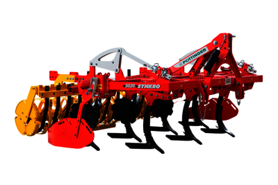 SYNKRO 1020 2-row mounted stubble cultivators