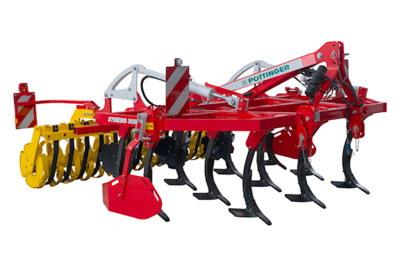 SYNKRO 3-row mounted stubble cultivators