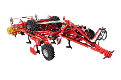 TERRIA 3-row trailed stubble cultivators