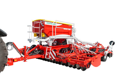 TERRASEM FERTILIZER Mulch seed drills with fertilizing