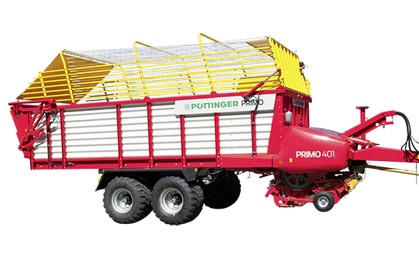PRIMO  - Loader wagons with feeder combs