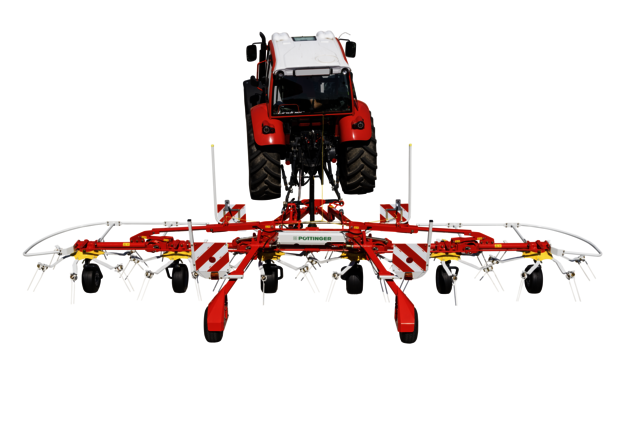 HIT 6.80 T – six rotor tedder