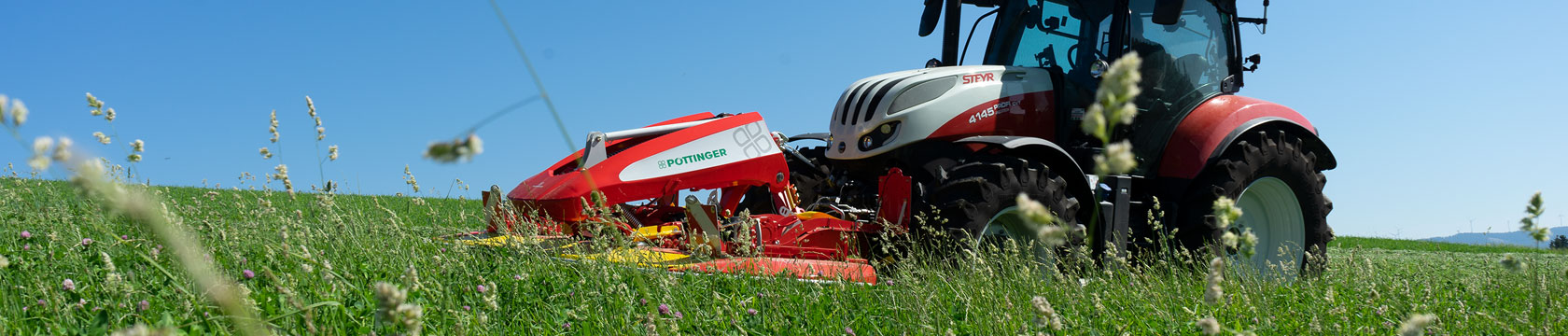 NOVACAT ALPHA MOTION front-type mowers