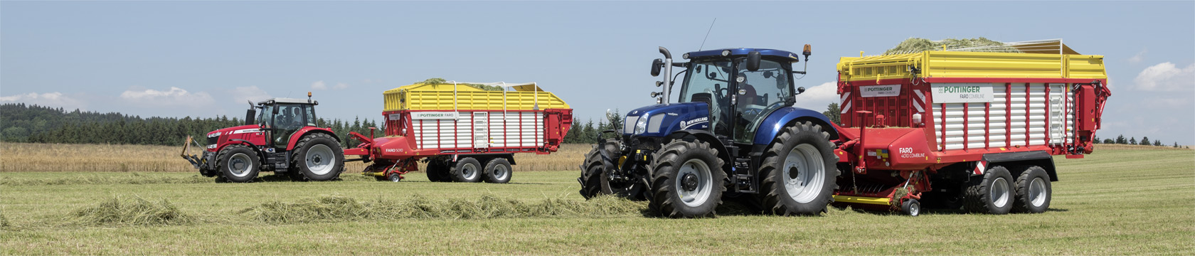 FARO Silage wagon with loading rotor