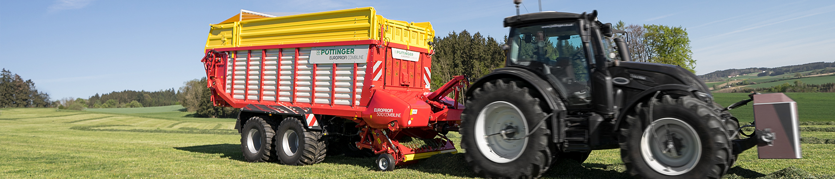 EUROPROFI COMBILINE 2 in 1 loader wagon technology