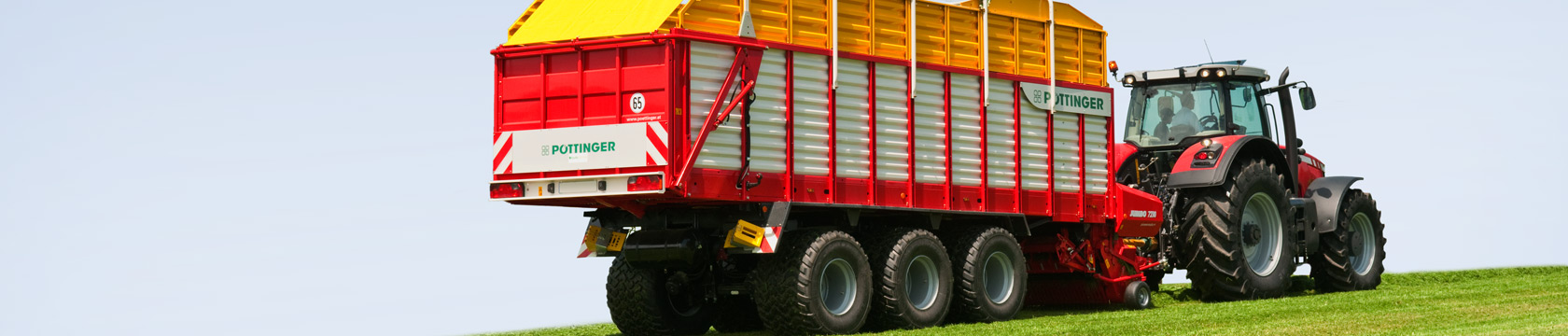 JUMBO High performance silage wagon with loading rotor