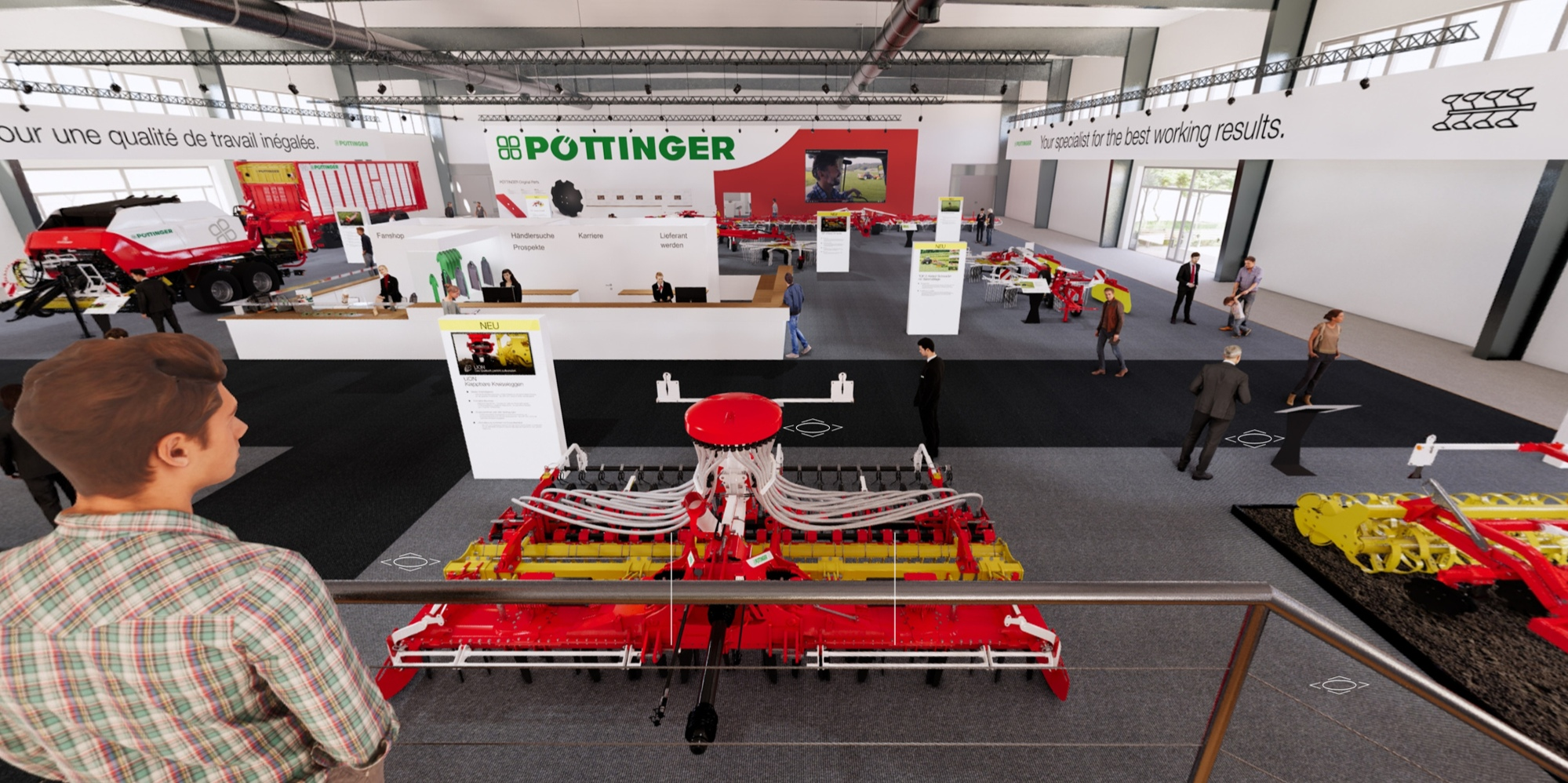 New! Visit the PÖTTINGER virtual fair